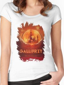 Travel To...  Gallifrey! Women's Fitted Scoop T-Shirt