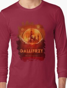 Travel To...  Gallifrey! Long Sleeve T-Shirt