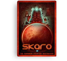 Travel To... Skaro! Canvas Print