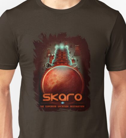 Travel To... Skaro! Unisex T-Shirt