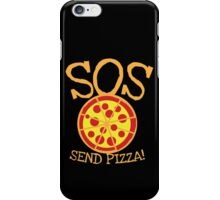 SOS send pizza iPhone Case/Skin
