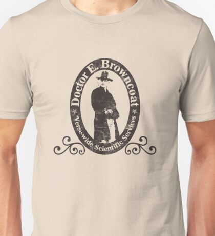 Doctor E. Browncoat Unisex T-Shirt