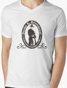 Doctor E. Browncoat Mens V-Neck T-Shirt