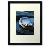 Morning Bagel  Framed Print