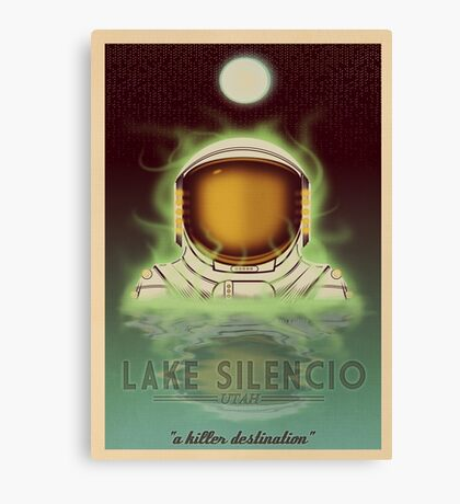 Travel To...  Lake Silencio Canvas Print