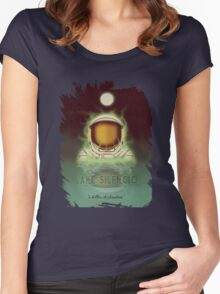 Travel To...  Lake Silencio Women's Fitted Scoop T-Shirt