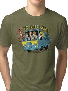 Let's Get Weird Tri-blend T-Shirt