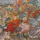 Leaves Abstraction I by Devalyn Marshall