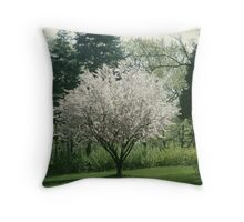 Magnolia Paradise Throw Pillow