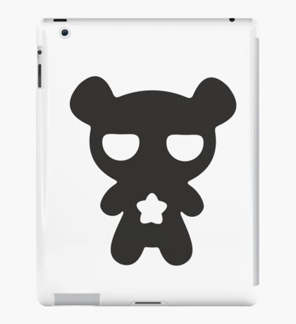 Lazy Bear B&W iPad Case/Skin