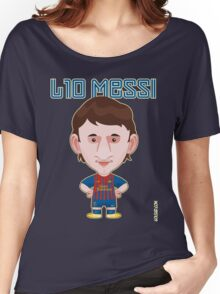 Leo Messi 2011/12 Women's Relaxed Fit T-Shirt