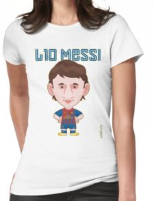 Leo Messi 2011/12 Womens Fitted T-Shirt