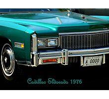Cadillac Eldorado 1976 ~ Part Two Photographic Print