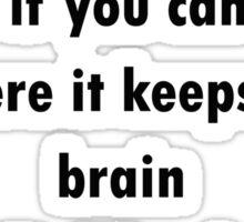 Mr Weasley Quote Sticker