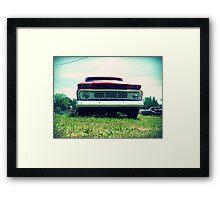 Truck. Framed Print