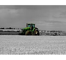 Working the Fields Photographic Print