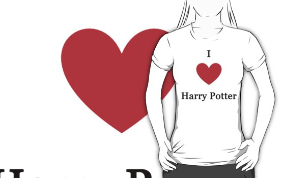I love Harry Potter by meldevere
