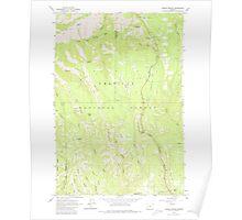 USGS Topo Map Oregon Andies Prairie 278841 1963 24000 Poster
