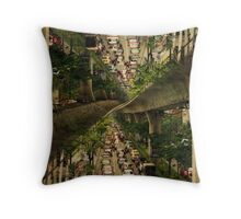 """Bangkok traffic"" -Thailand Series- Throw Pillow"
