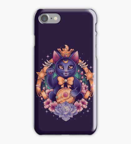 Maneki Luna iPhone Case/Skin