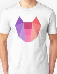 Geometric Cat T-Shirt