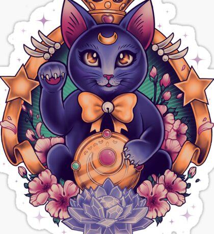 Maneki Luna Sticker