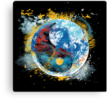 flux planet Canvas Print