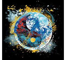 flux planet Photographic Print