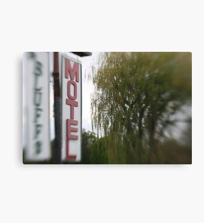 Nowhere Motel Canvas Print