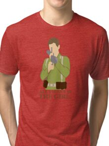 """Indiana Jones - """"All I Want is the Girl"""" Tri-blend T-Shirt"""