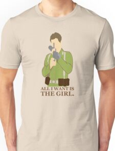 """Indiana Jones - """"All I Want is the Girl"""" Unisex T-Shirt"""