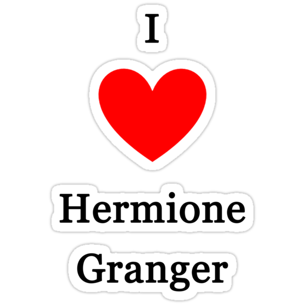 I love Hermione Granger by meldevere