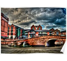 Nottingham Canal England 2011 HDR Poster