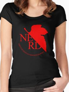 NGE NERD Women's Fitted Scoop T-Shirt