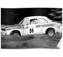 Ford Escort MK1 RS2000 Poster