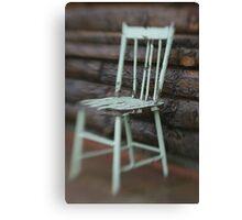 Farmhouse Chair Canvas Print