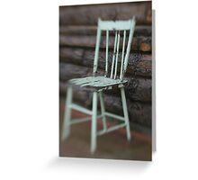 Farmhouse Chair Greeting Card