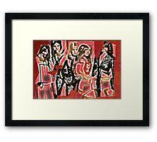 Cherry Bomb (The Runaways) Framed Print