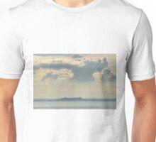 Castiglione del Lago from Passignano sul Trasimeno, Umbria, Italy Unisex T-Shirt