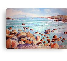 Yzerfontein seascape, near Cape Town, South Africa Canvas Print
