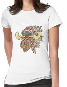 Lakota Elk  Womens Fitted T-Shirt