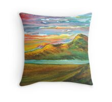 Mourne Abstract 3 Throw Pillow