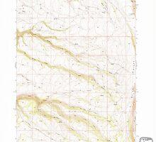 USGS Topo Map Oregon Mc Coy Ridge 280679 1968 24000 by wetdryvac