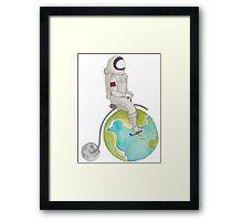 Sir Galactica Framed Print