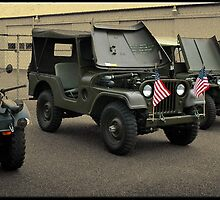 Military Jeeps by Brandon Taylor