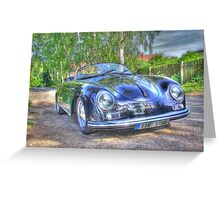 1955 Porsche Speedster Greeting Card