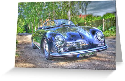 1955 Porsche Speedster by JH2011