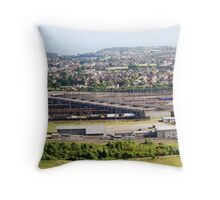 Channel Tunnel Rail Link  Throw Pillow
