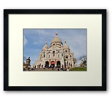Sacre Coeur, Paris Framed Print