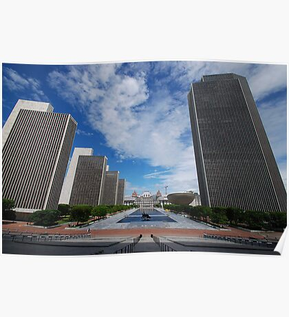 Empire State Plaza Poster